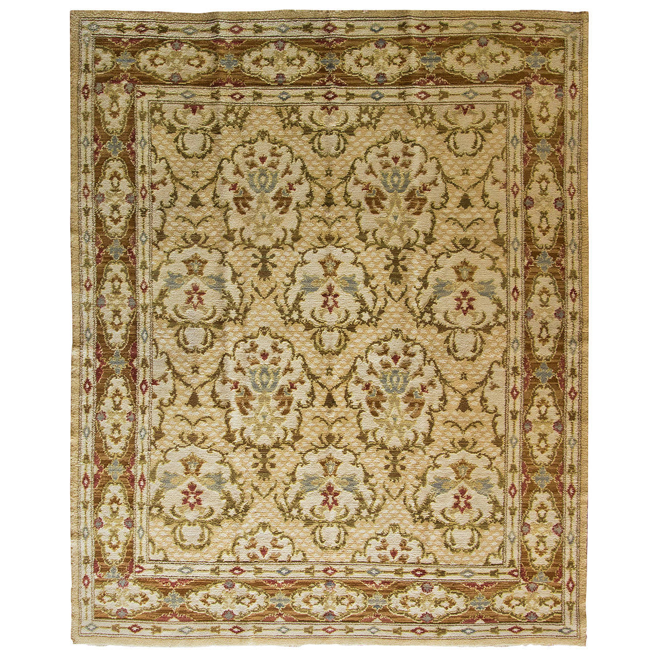 An Spanish Savonnerie Carpet For Sale at 1stdibs