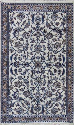 A beautiful Persian Nain Rug.