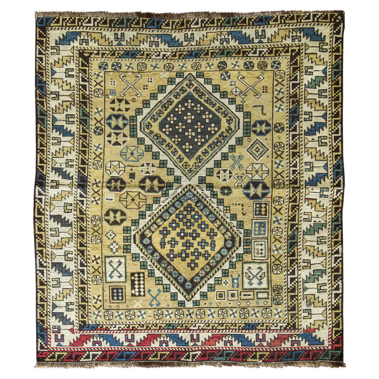 Shirvan Caucasian Rug For Sale