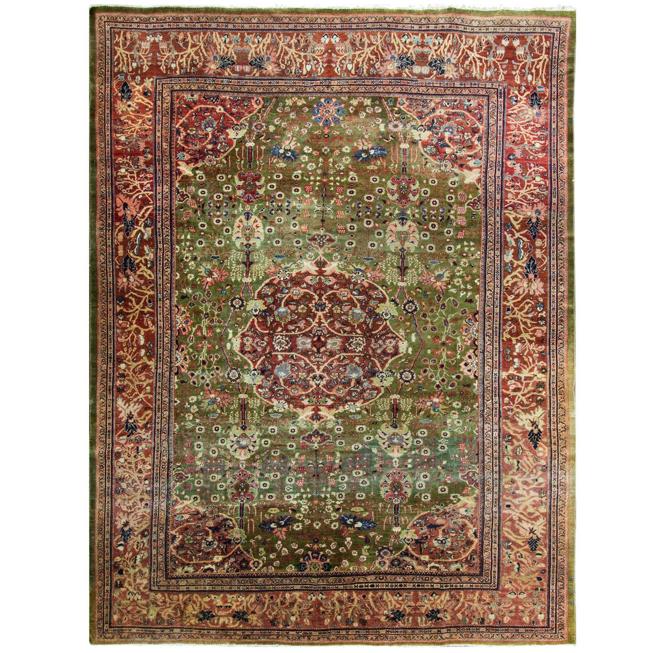 Sultanabad Carpet For Sale At 1stdibs