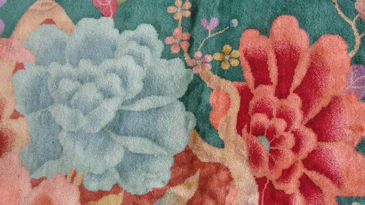 Wool Art Deco Chinese For Sale