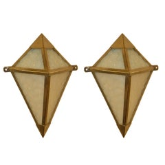 French Modernist Art Deco Sconces