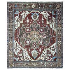 19th Century Serapi Carpet, Persia