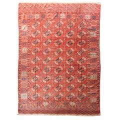 "Antique Tekke Main Carpet, Turkoman, 6'7"" x 9'6"""