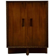 Frank Lloyd Wright Nightstand / Small Cabinet