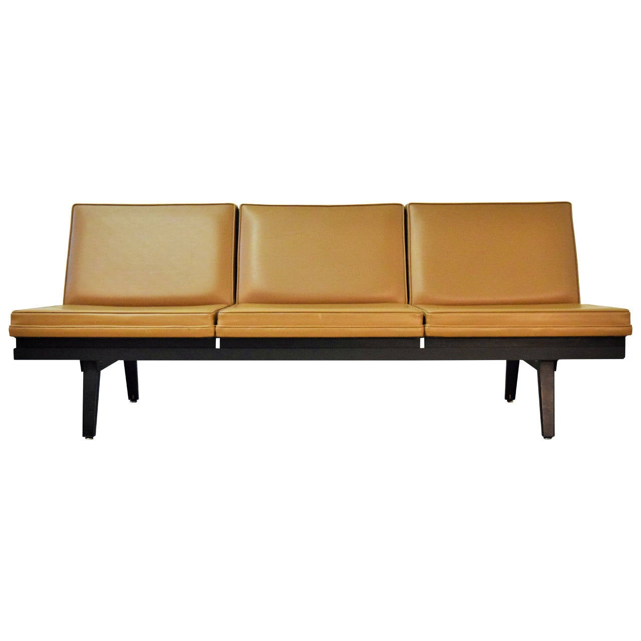 George Nelson Steel Frame Sofa At 1stdibs