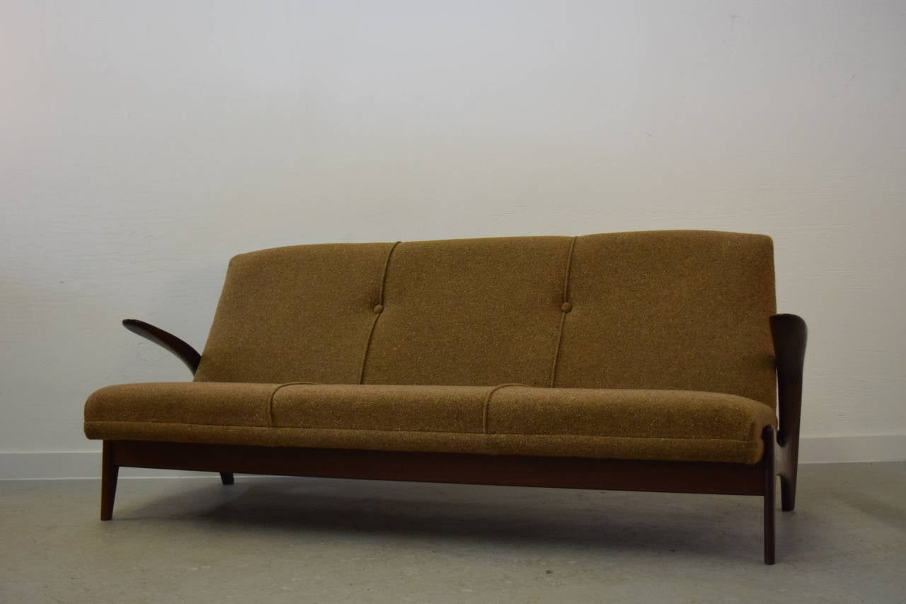 Sculptural Gimson + Slater three-seater sofa