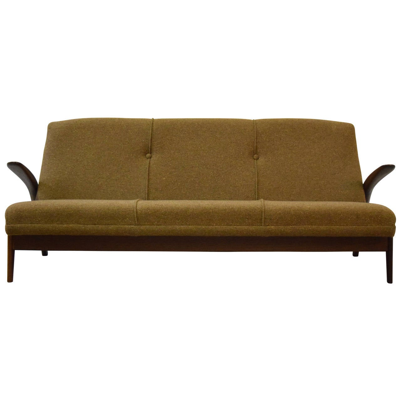 Sculptural Gimson and Slater Three-Seater Sofa For Sale