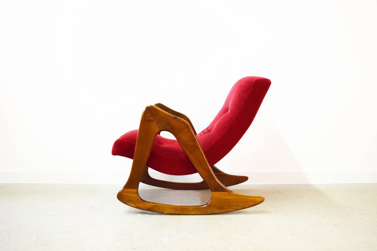 Mid-Century Modern Adrian Pearsall Rocking Chair for Craft Associates