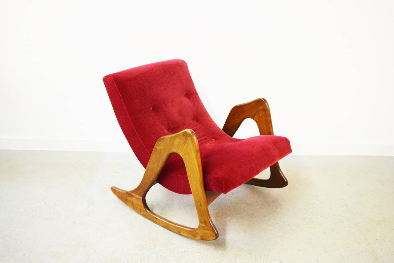 20th Century Adrian Pearsall Rocking Chair for Craft Associates
