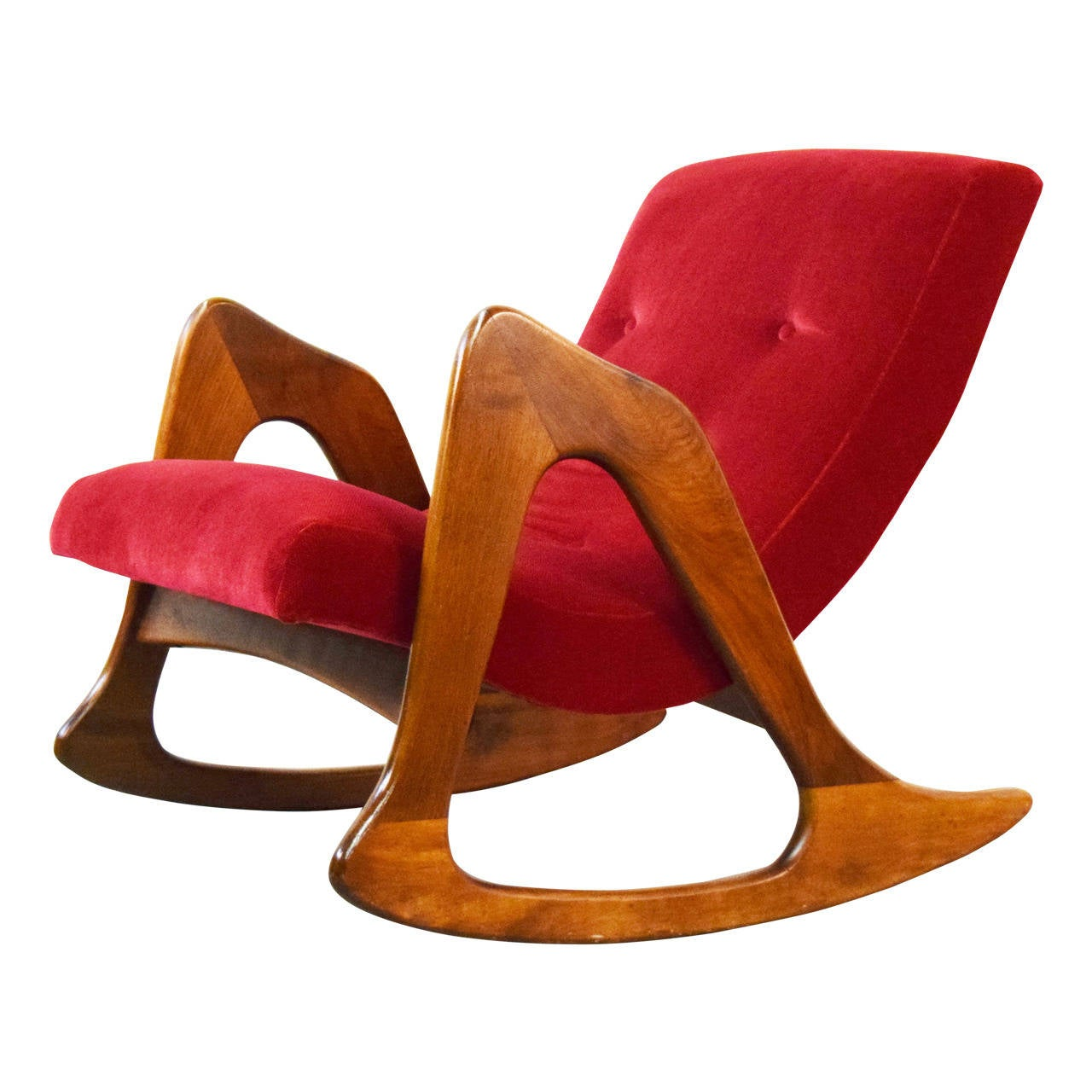 Adrian Pearsall Rocking Chair for Craft Associates