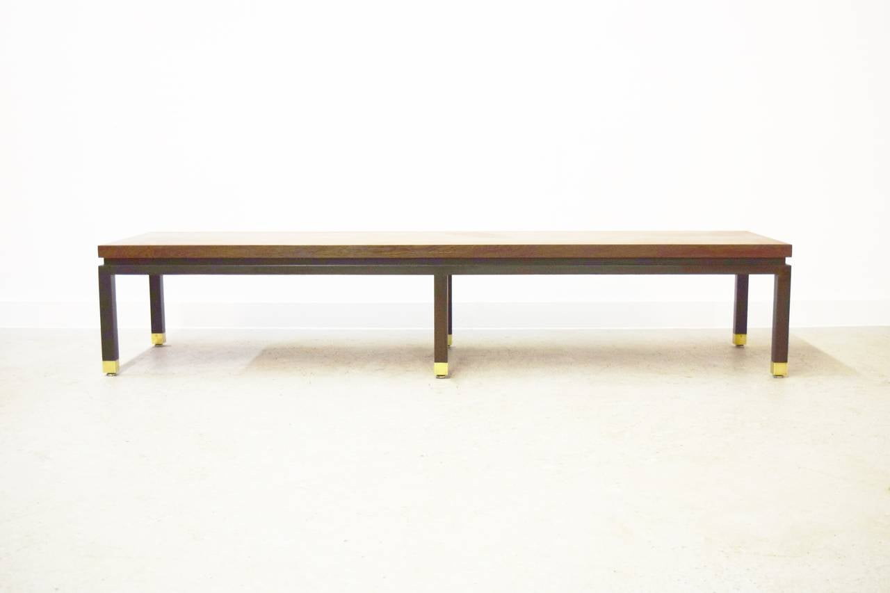 Harvey Probber Rosewood Coffee Table Or Bench For Sale At 1stdibs