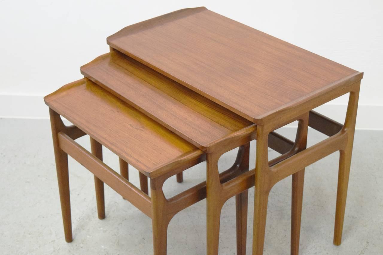 Heltborg Mobler Denmark Nesting Tables image 8