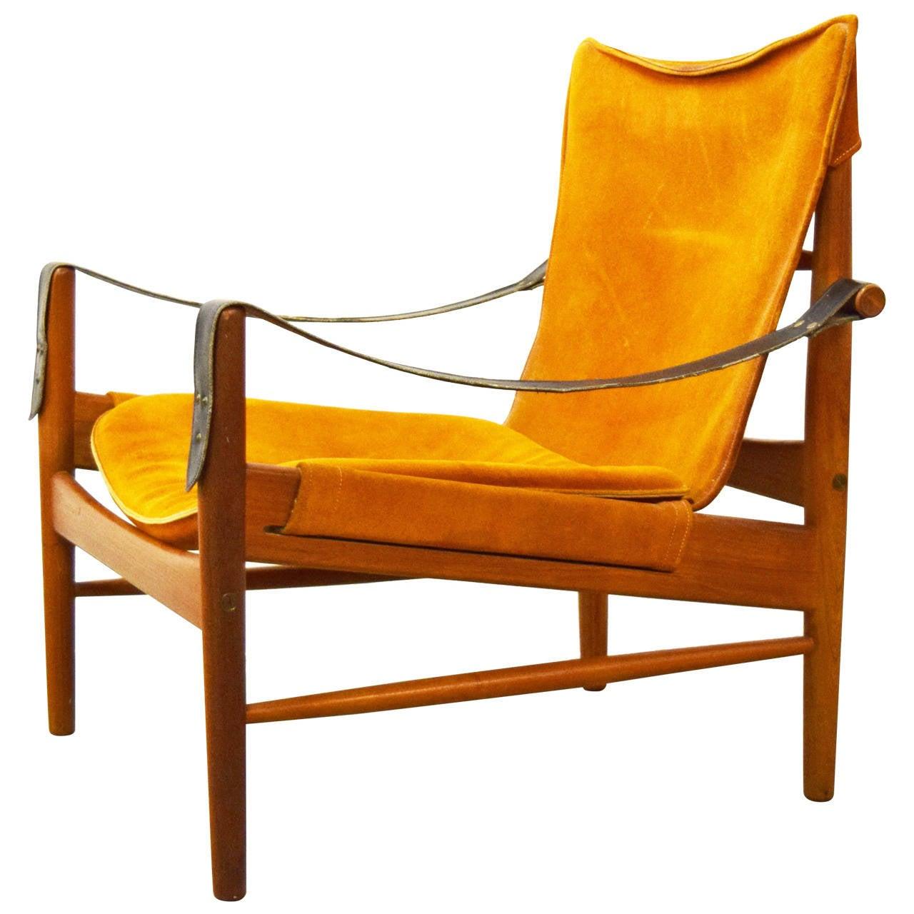 Hans Olsen Safari Chair at 1stdibs