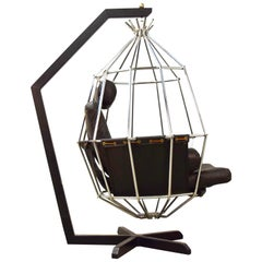 Ib Arberg Hanging Birdcage Chair