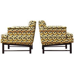 Pair of Edward Wormley for Dunbar Lounge Chairs