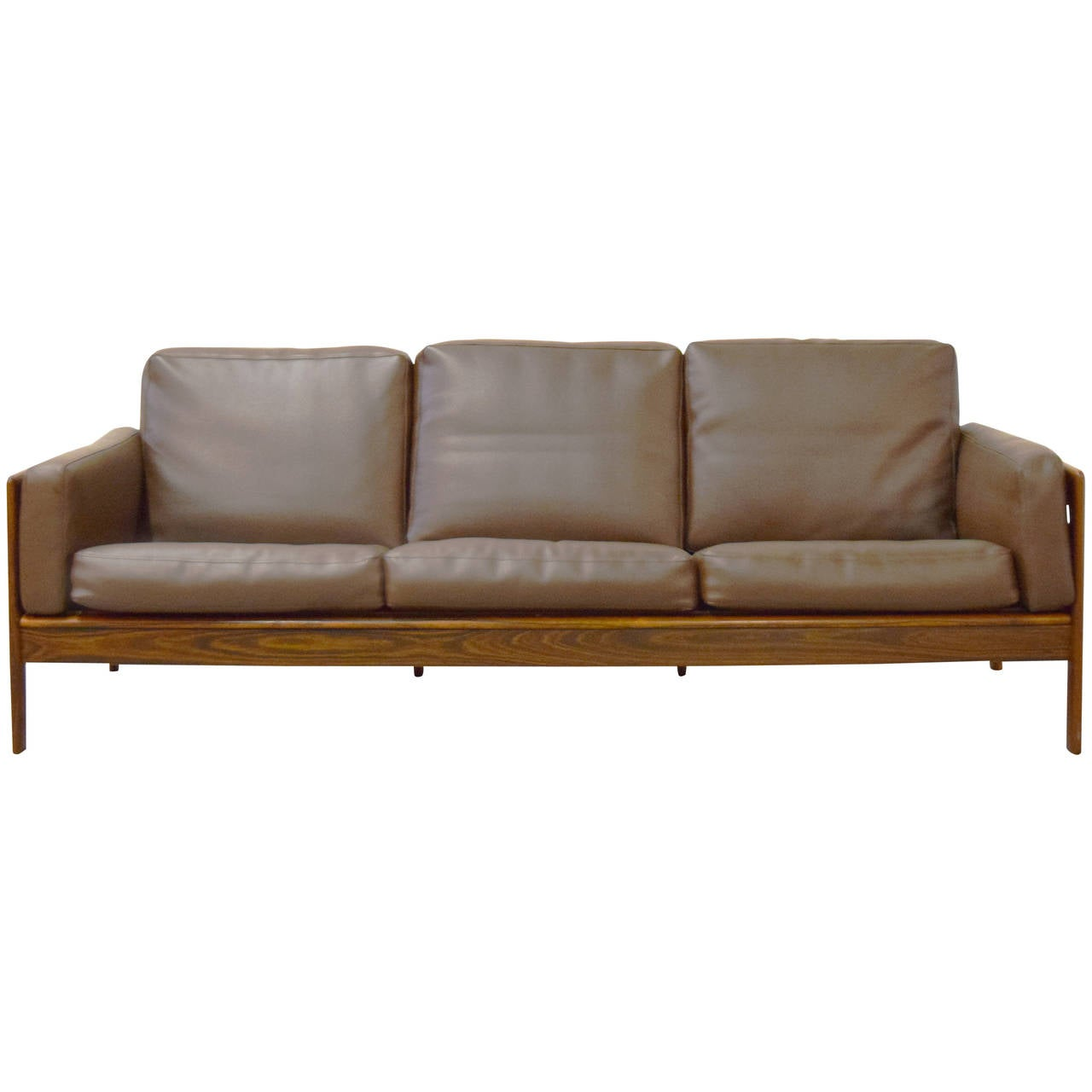 komfort mobler rosewood sofa at 1stdibs. Black Bedroom Furniture Sets. Home Design Ideas