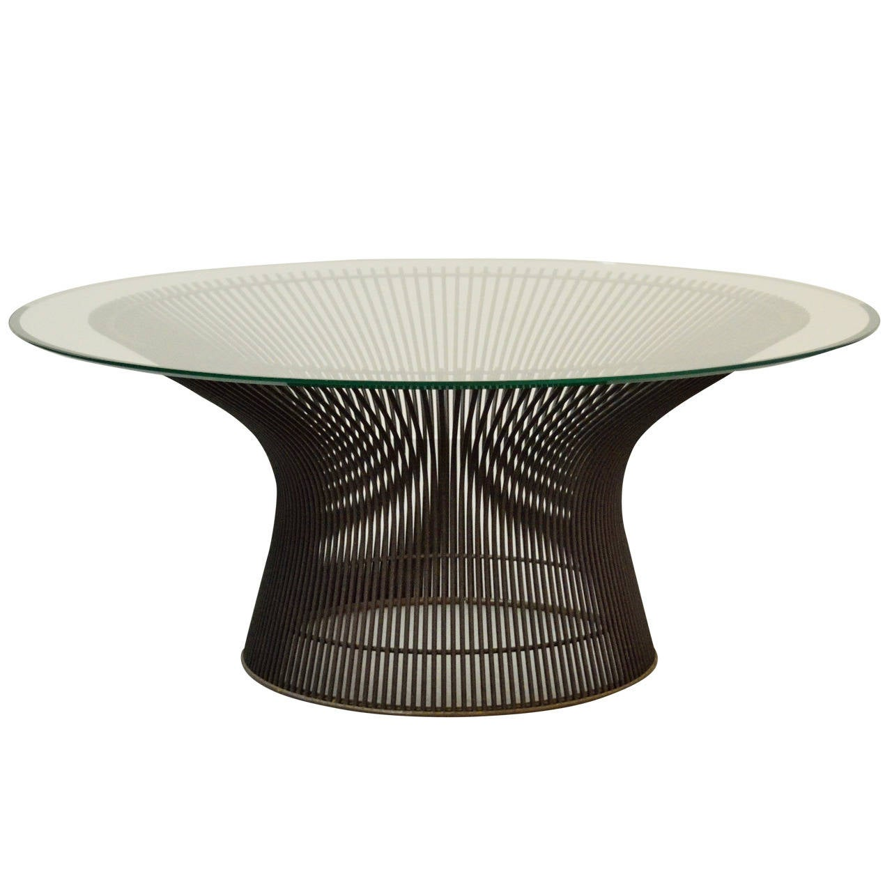 Warren platner bronze coffee table for sale at 1stdibs Bronze coffee tables