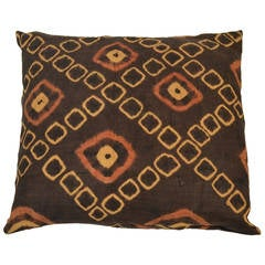 Andrianna Shamaris Double Back African Raffia Pillow