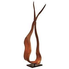 Mahogany Wood Sculpture