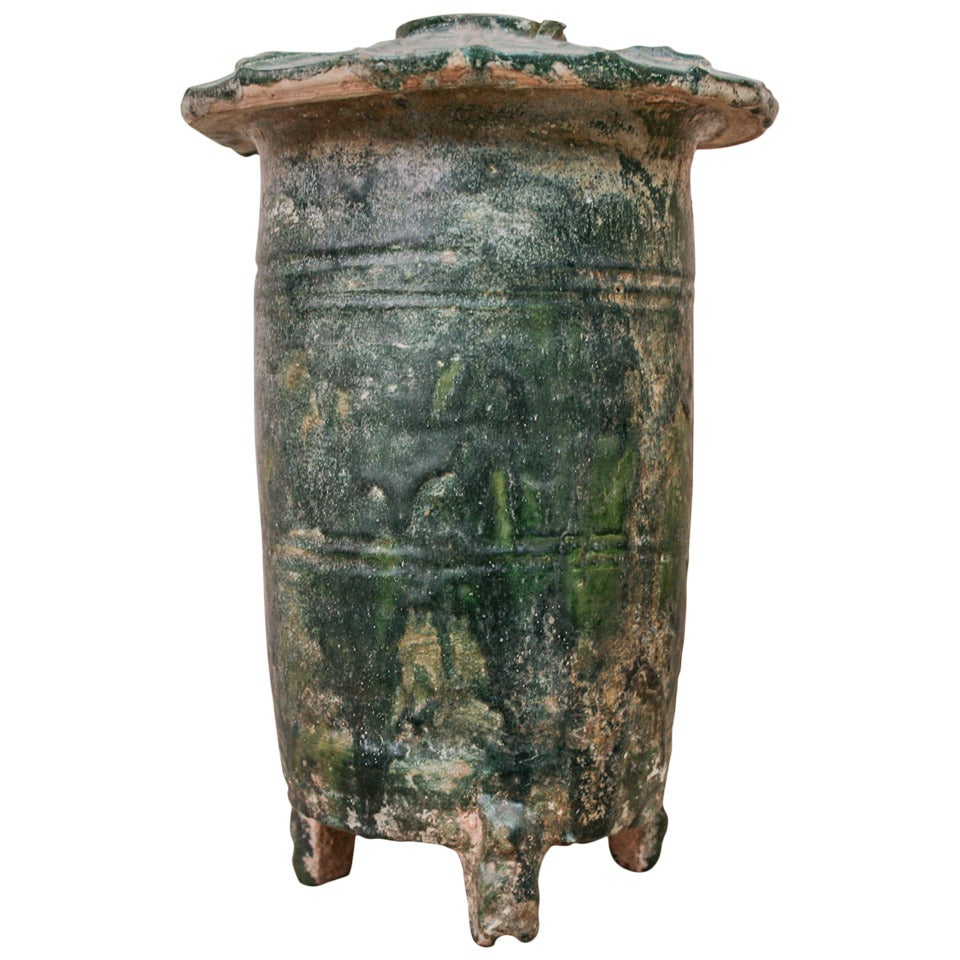 Han Dynasty Green Glazed Granary At 1stdibs