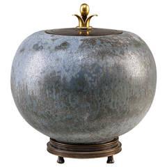 Carl Halier For Royal Copenhagen Lidded Jar