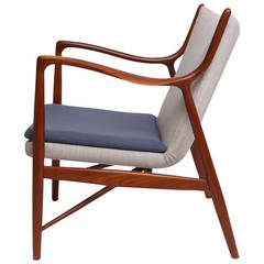 Finn Juhl NV45 Chair by Niels Vodder