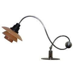 Poul Henningsen Extremely Rare Piano Lamp