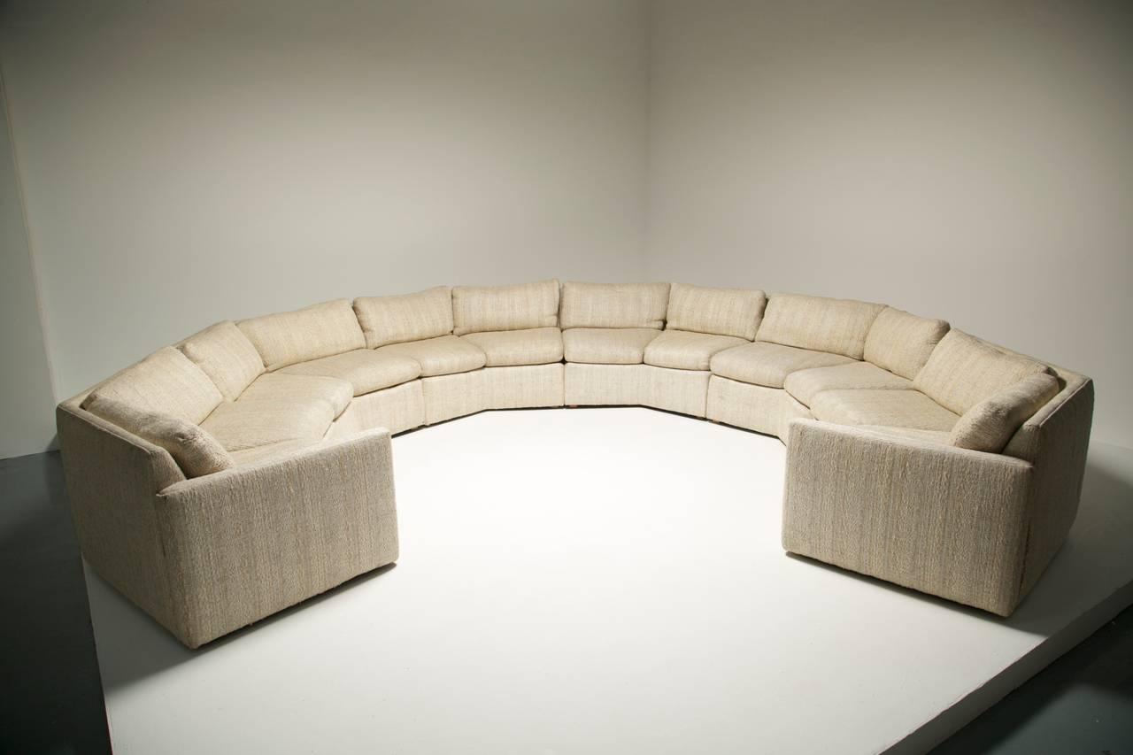 Half Hexagon Shaped Sofa Review Home Co