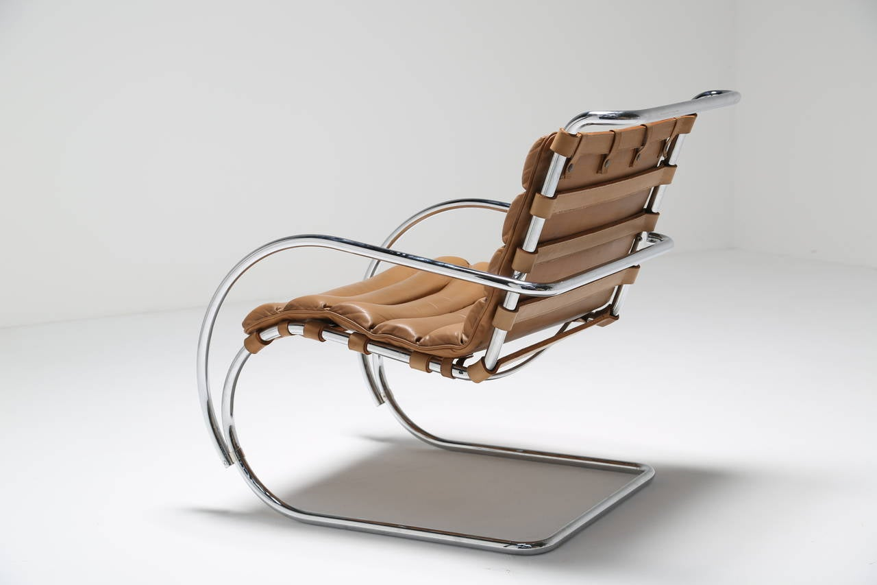 Great Mies Van Der Rohe MR Chair By Studio Knoll At 1stdibs