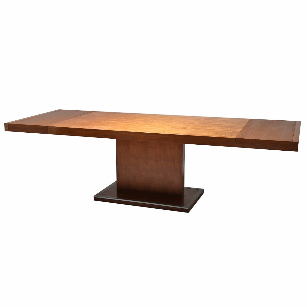 Beautiful Milo Baughman Style Dining Table By Founders At