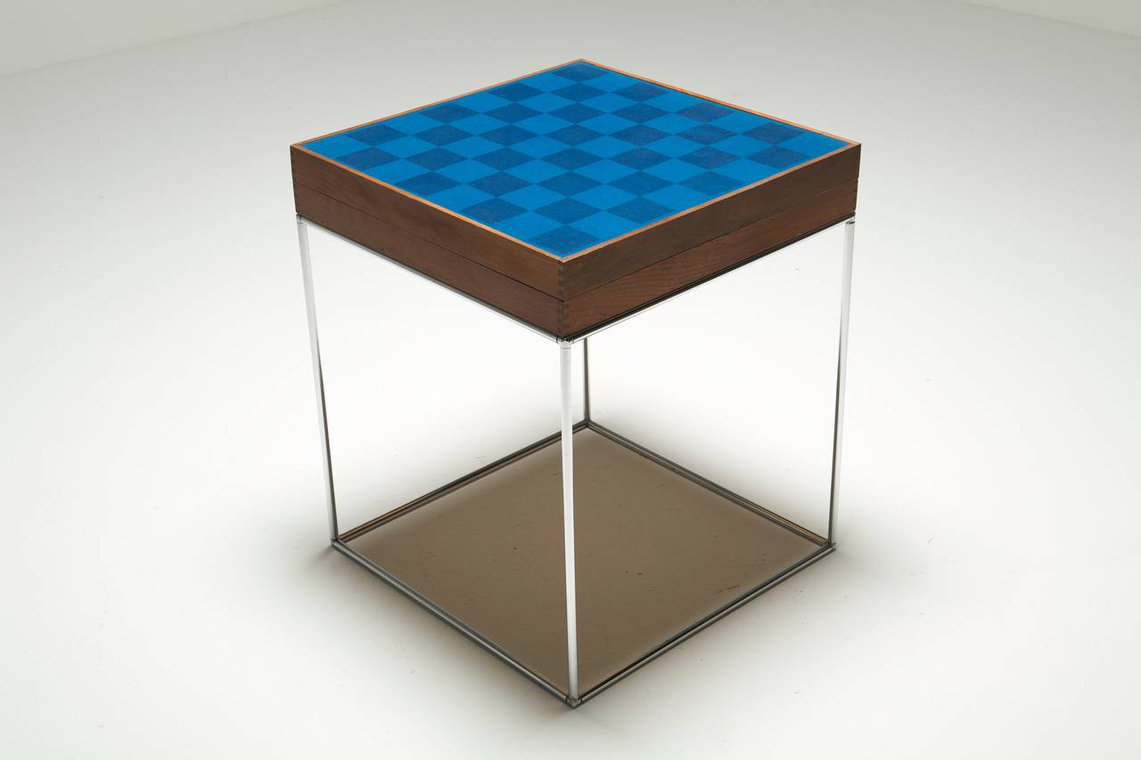 Austin Cox Chess And Backgammon Table 3