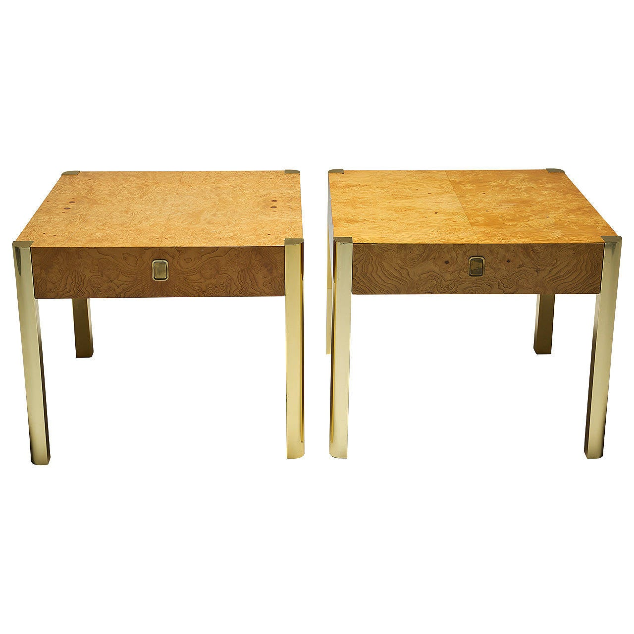 midcentury end tables by century furniture 1