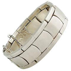 Antonio Pineda .970 Silver Link Bracelet