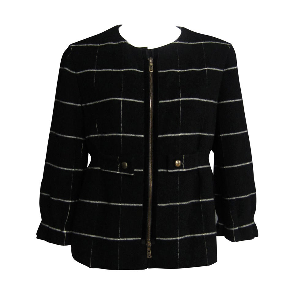 YVES SAINT LAURENT Edition 24 Cropped Wool Jacket