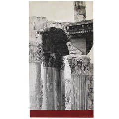 Baalbek Ruins Photo from New York Worlds Fair 1964