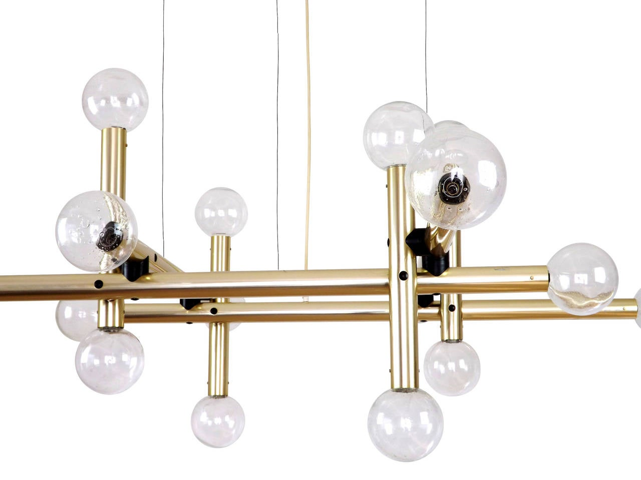 Kalmar Sputnik Chandelier Huge Atomic Pendant Light (Pair Available) In Excellent Condition In Vienna, AT