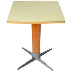 Viennese Coffee or Side Pedestal Table by Oswald Haerdtl, Thonet, 1950s