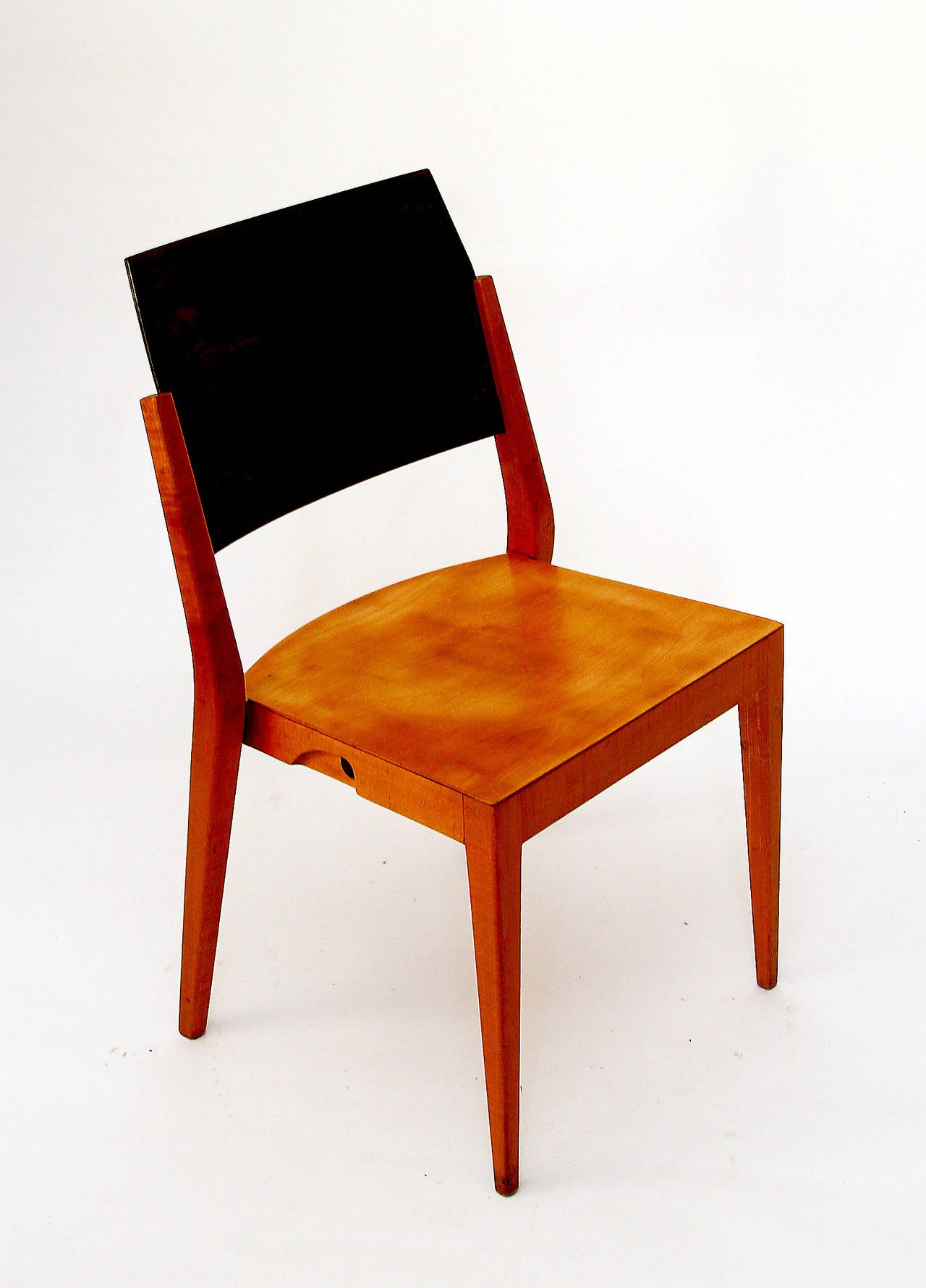 Four Important Austrian Stacking Chairs By Karl Schwanzer