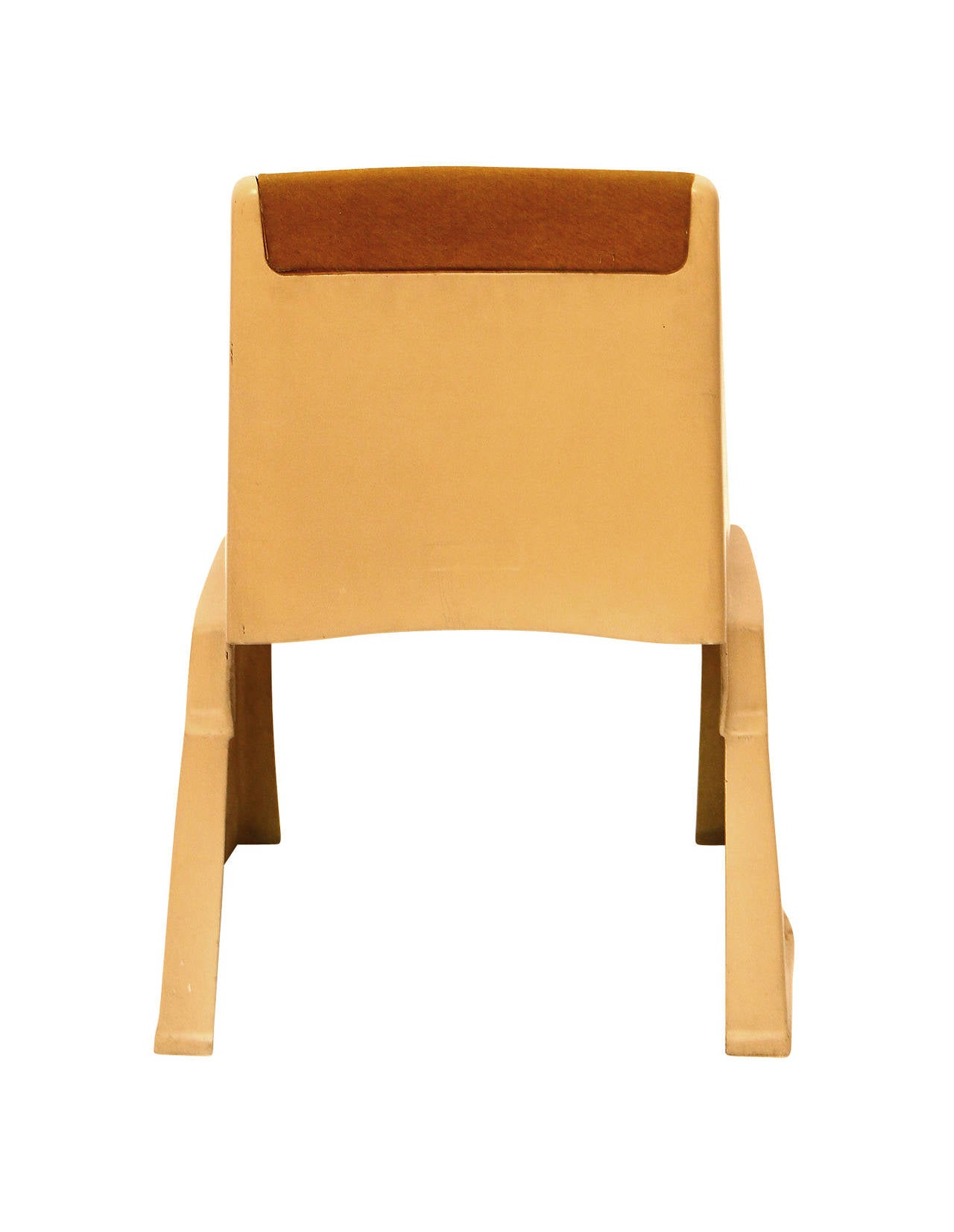 Up to 8 Very Rare Brutalist Austrian Stacking Chairs, 1970s For Sale 1