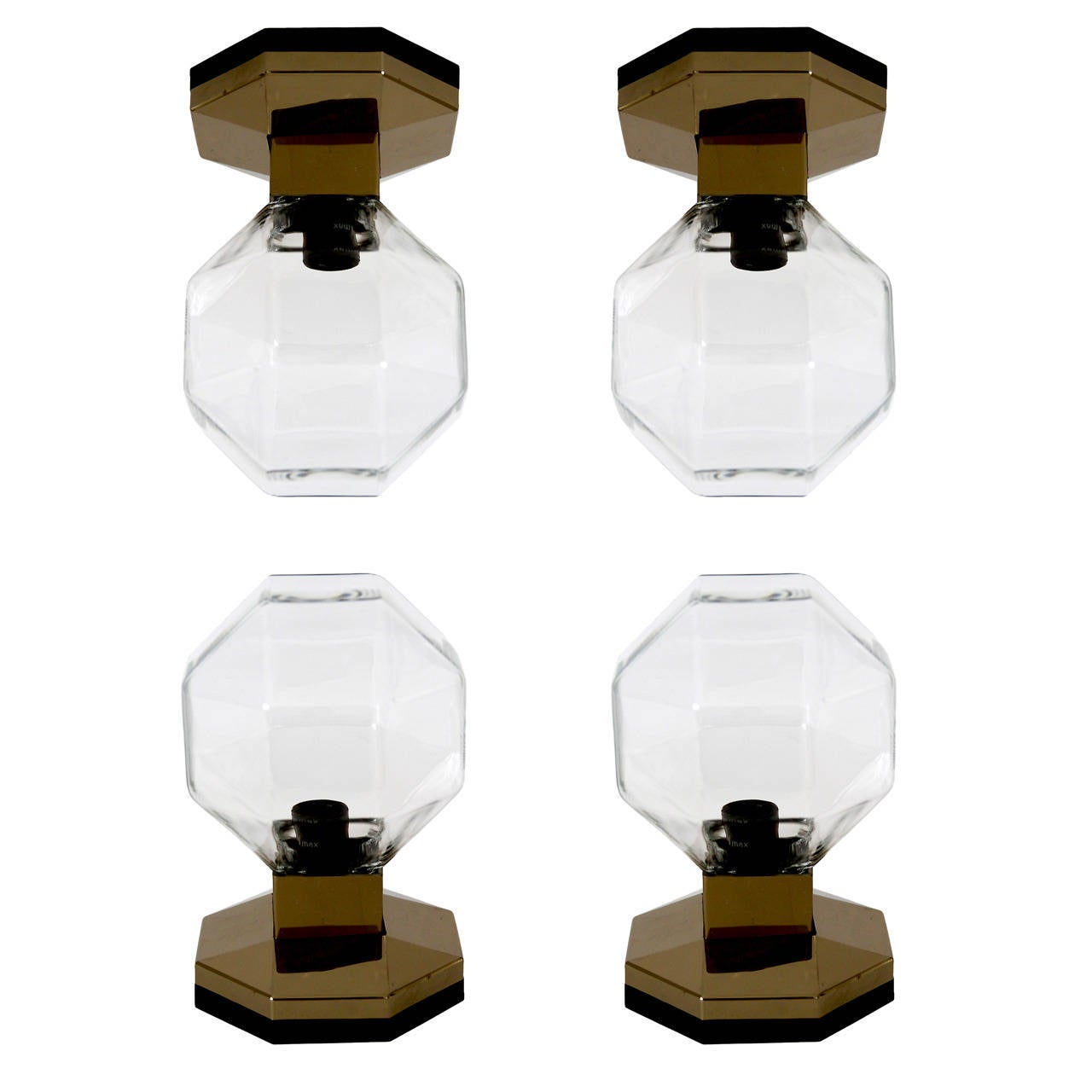 Ceiling Lights Germany : Four table wall or ceiling lights by motoko ishii for