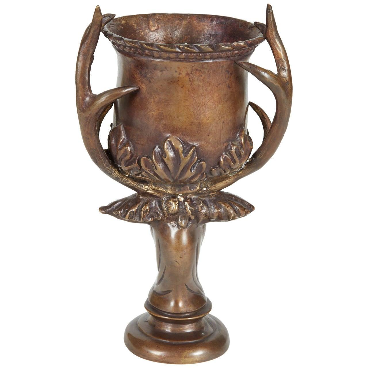 1890s Antique German Bronze Chalice At 1stdibs
