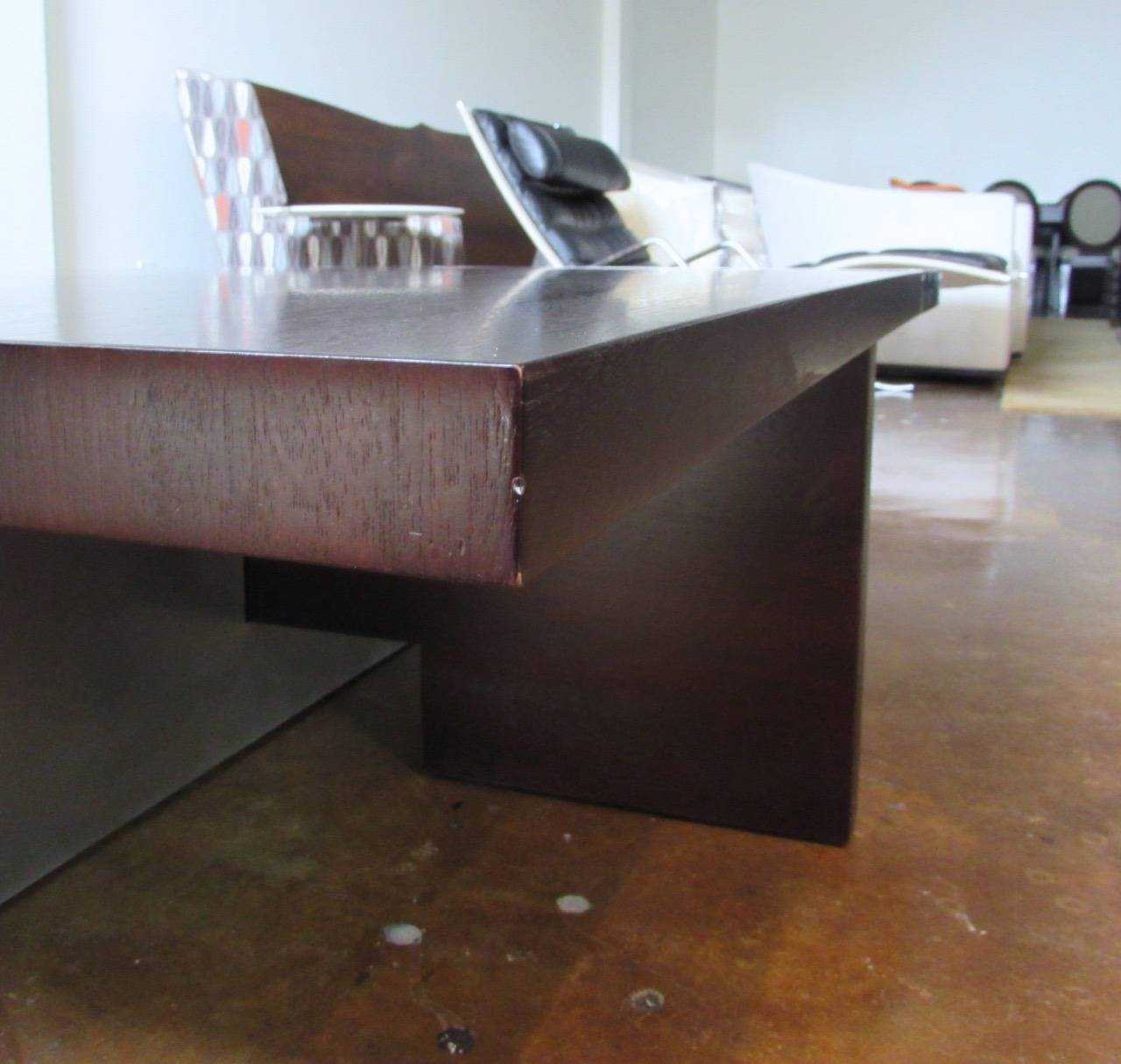 David Gulassa Planked Coffee Table For Sale at 1stdibs