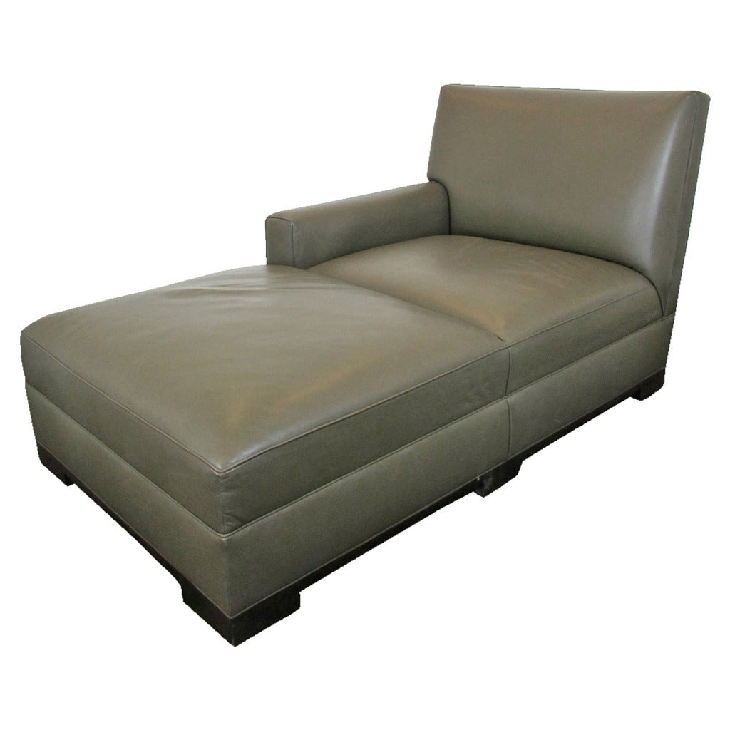 3 seater chaise lounge dimensions crafts for Chaise leather lounge