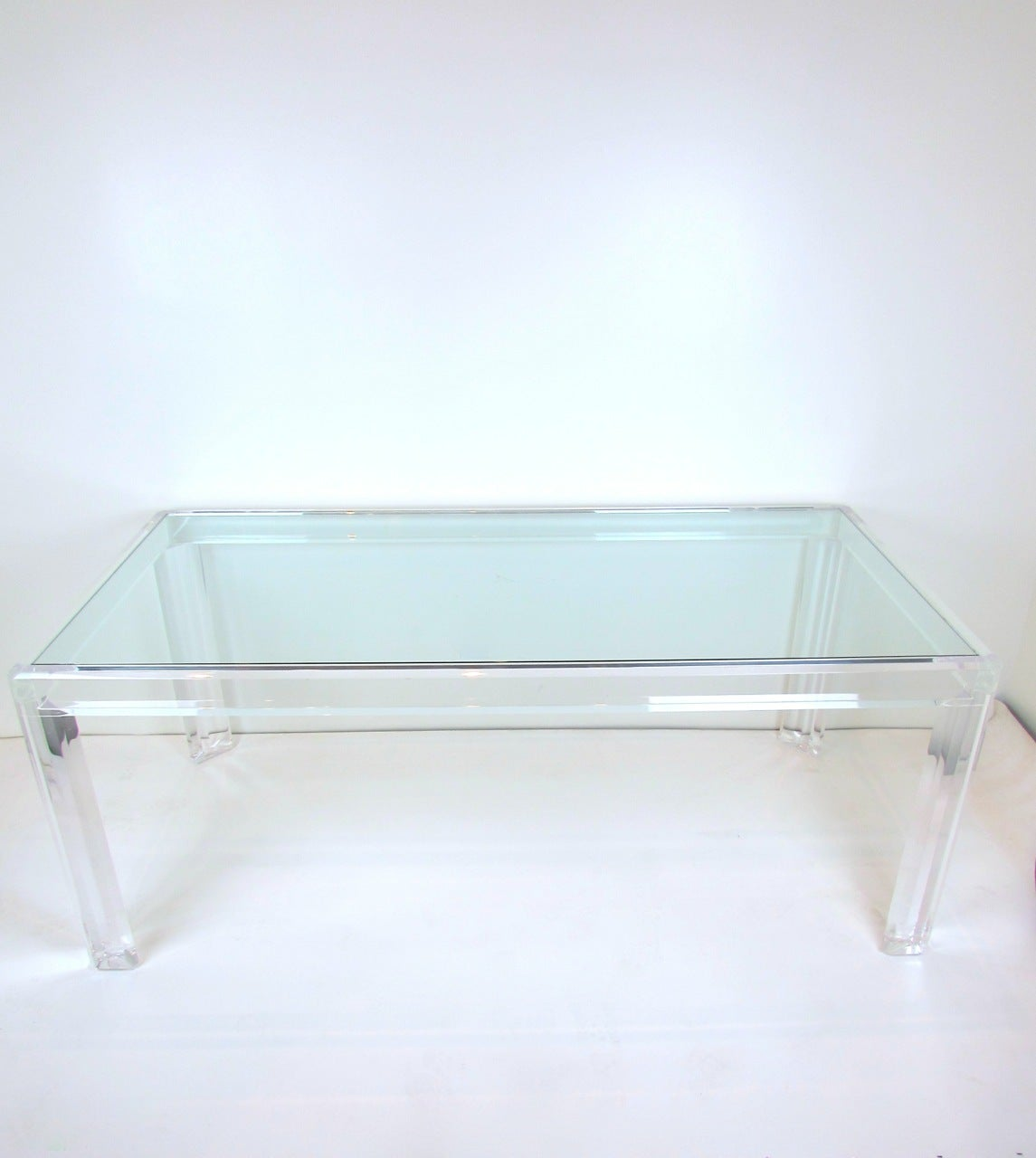 acrylic dining table at 1stdibs best acrylic dining room table contemporary ltrevents