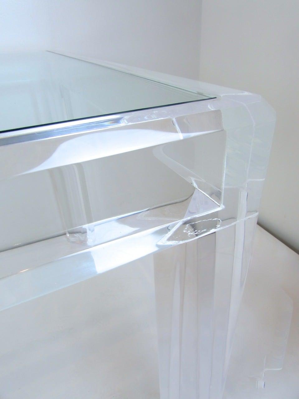 acrylic dining table at 1stdibs vintage acrylic dining table at 1stdibs