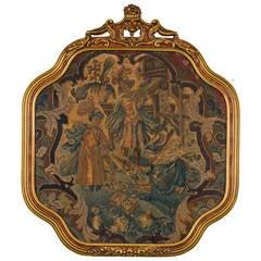18th Century Framed Tapestry