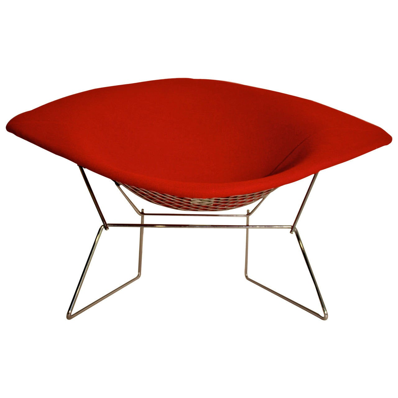 the diamond chair by harry bertoia at 1stdibs. Black Bedroom Furniture Sets. Home Design Ideas