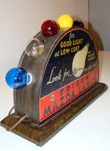 Beautiful Edison Mazda Lamp Retail Display At 1stdibs
