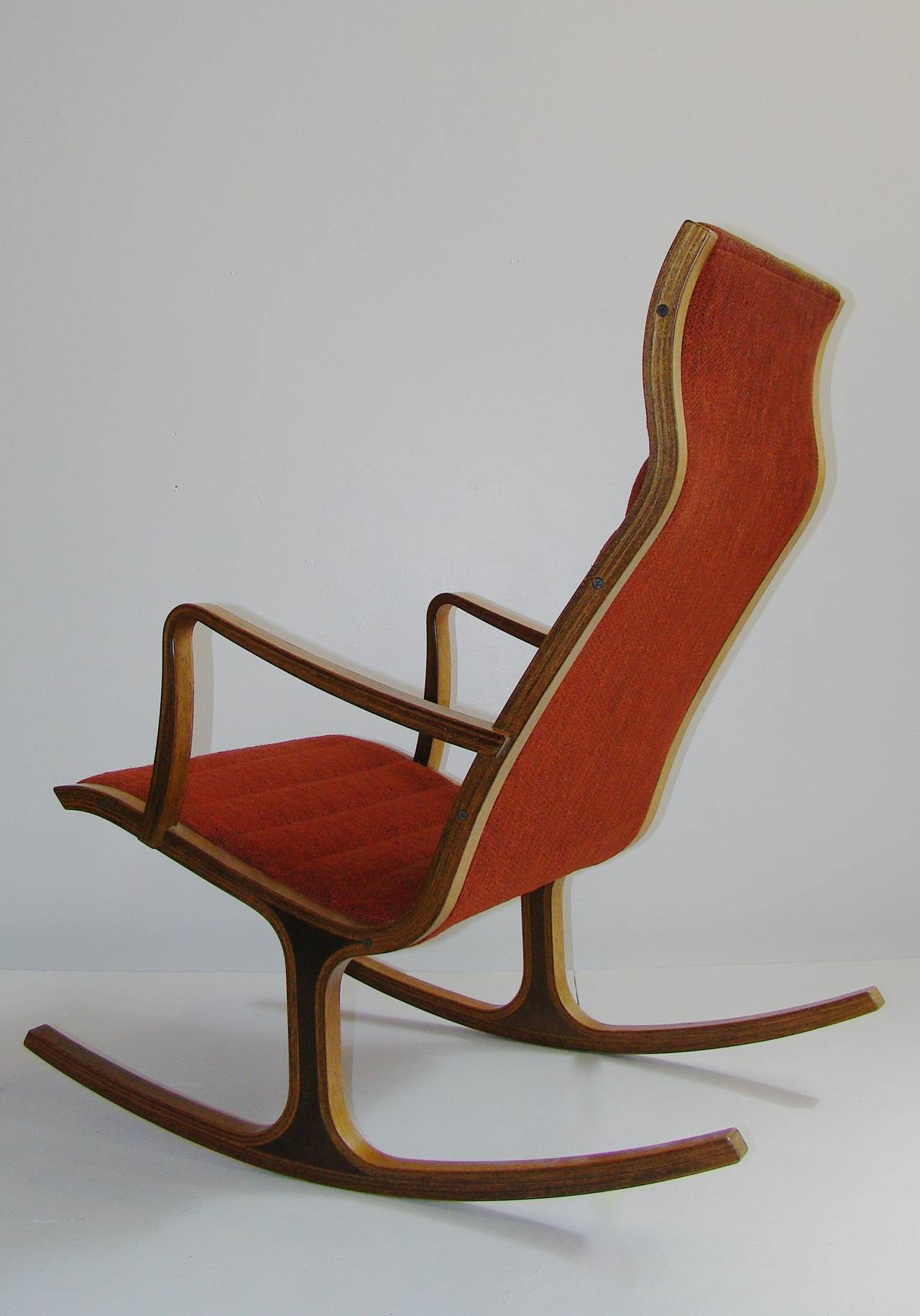 Mitsumasa Sugasawa For Tendo Mokko Quot Heron Quot Rocking Chair